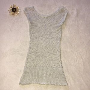 Tops - Stretchy Sparkle Sweater Top!
